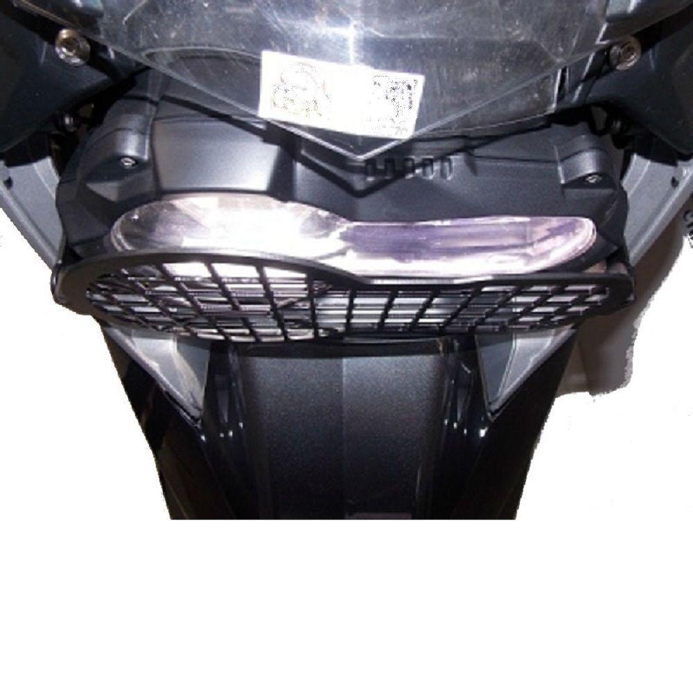 Protetor Farol Bmw R 1200 e 1250 Gs Preto Grade Chapam