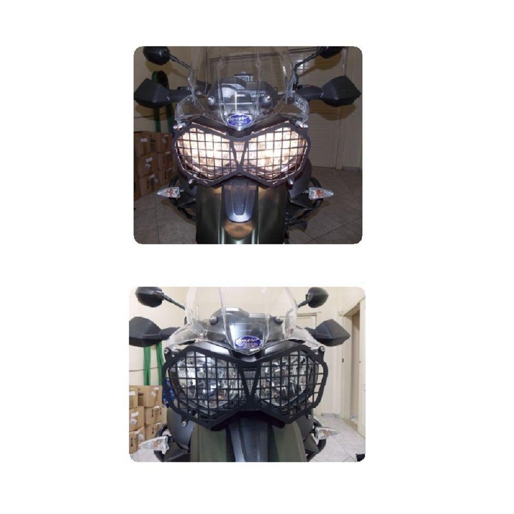 Protetor Farol Grade Tiger 800 Xc Xr Xcx Xrx Chapam 8303