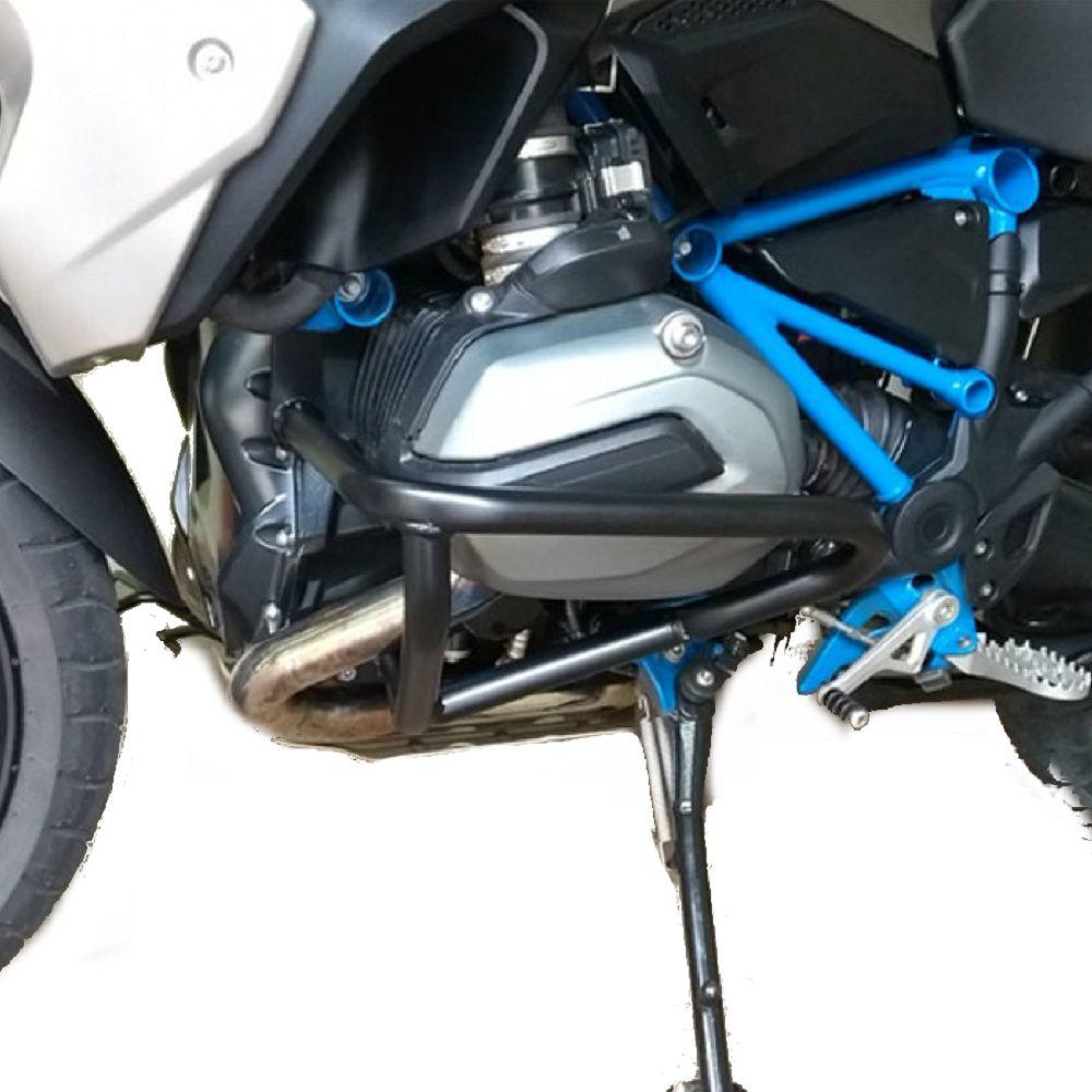 Protetor Ferro Motor Cabeçote Preto BMW R 1200 GS LC 2013 2019 Start Racing S357