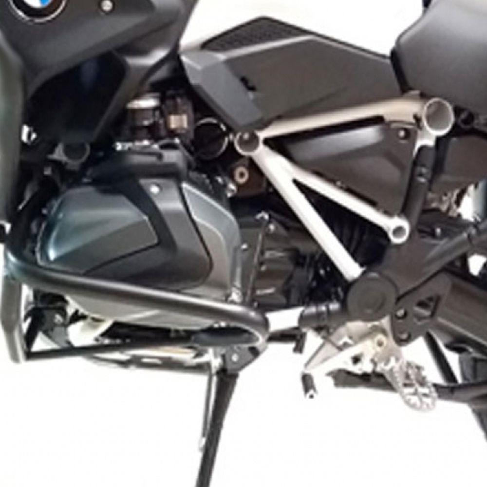 Protetor Ferros Motor Cabeçote Preto Para BMW R 1250 GS 2019 Start Racing S387