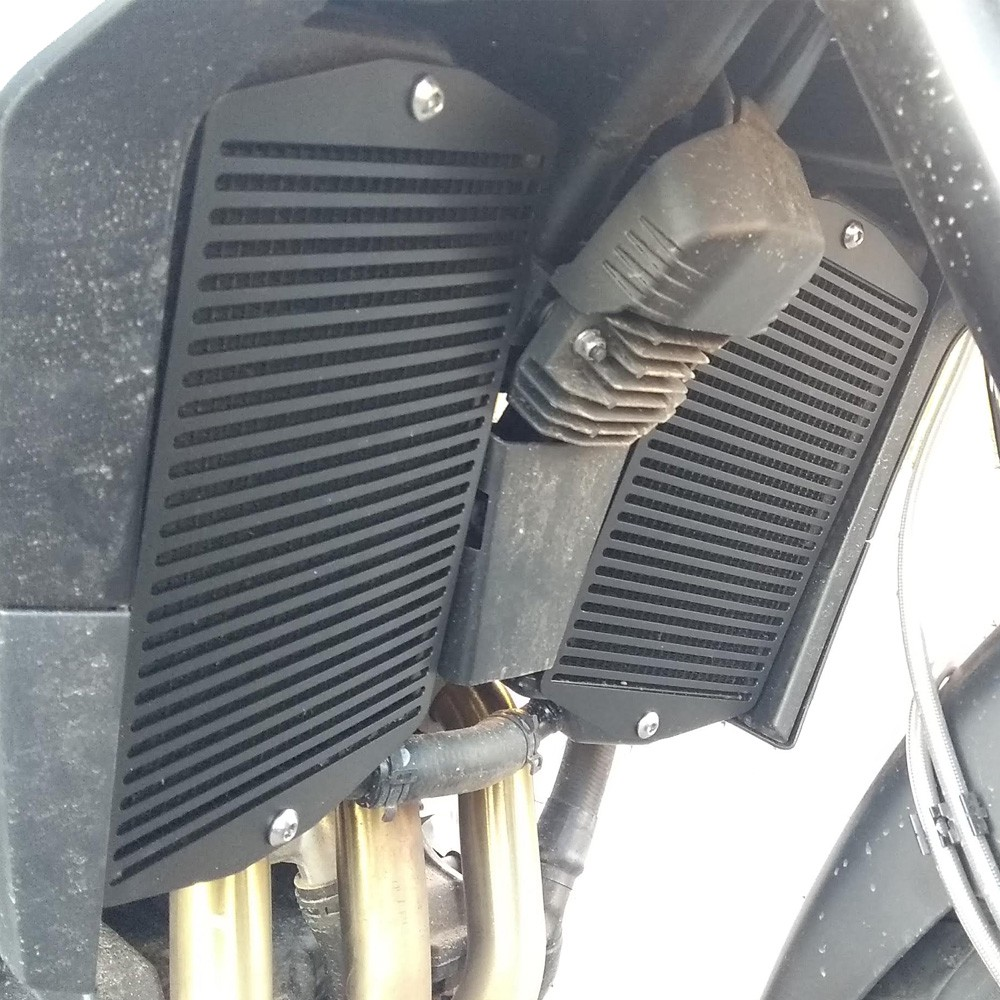 Protetor Grade Colmeia Frontal de Radiador de Metal P/ Tiger 900 GT / GT PRO / RALLY / RALLY PRO Start Racing S431