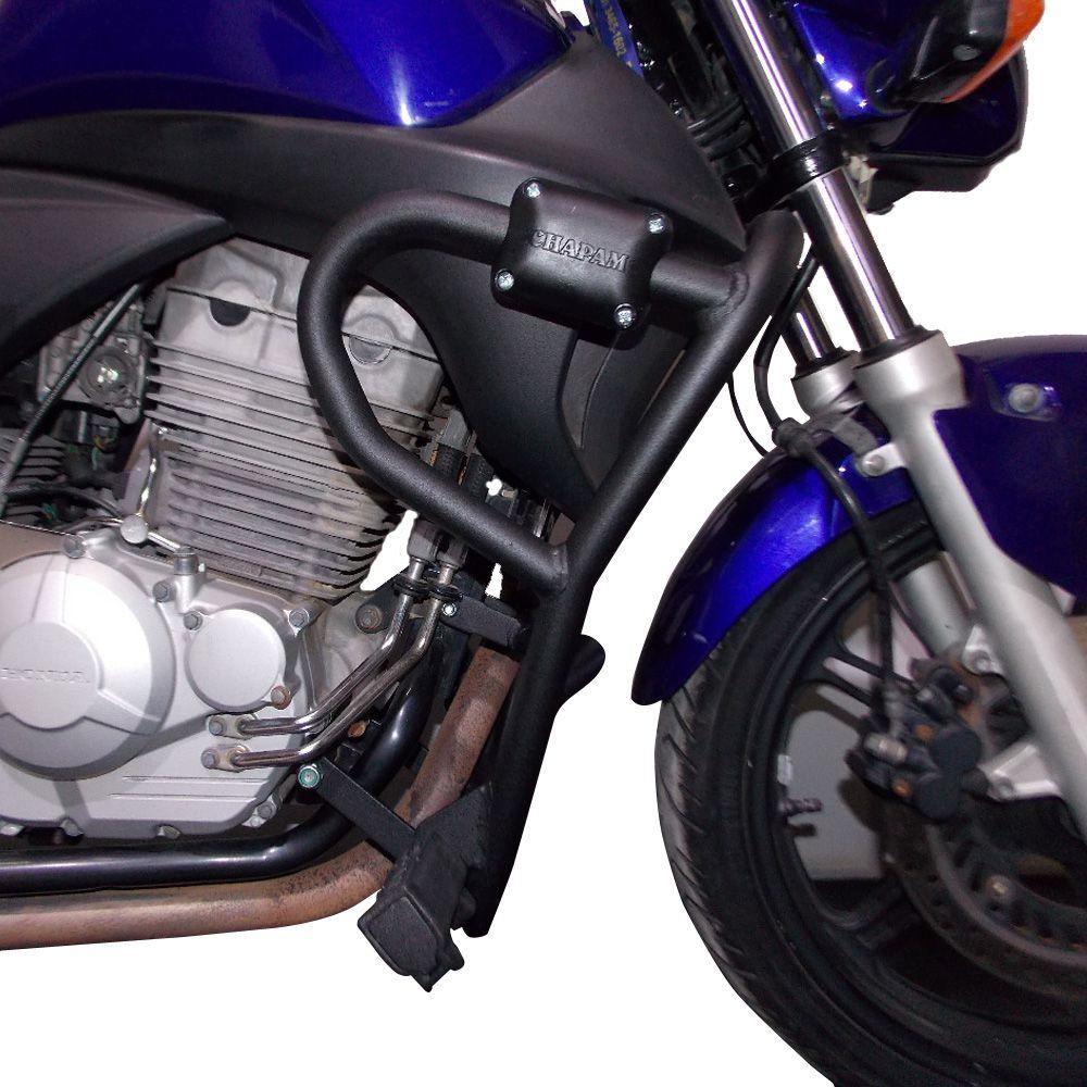 Protetor de Ferros Para Motor Carenagem C/ Pedaleiras Para CB 300 Chapam 11934