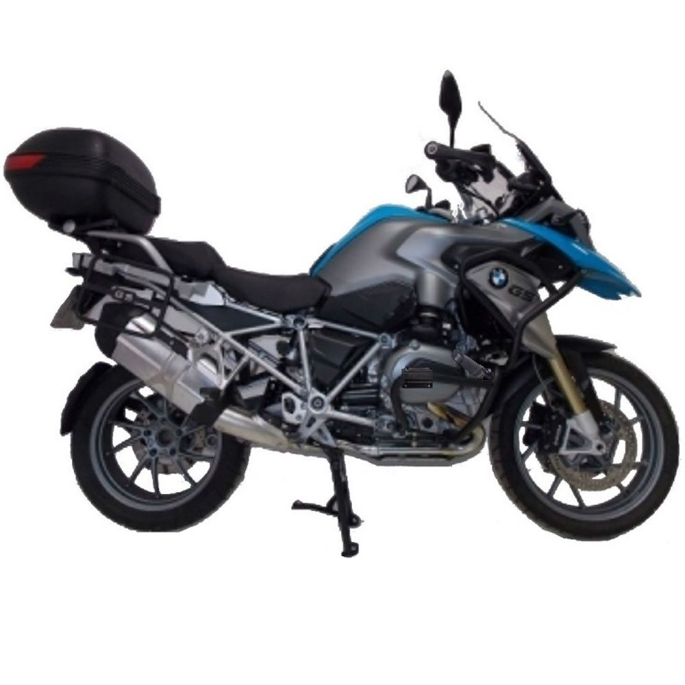 Protetor Motor Chapam Bmw R 1200 Gs 2013 Diante Preto 891