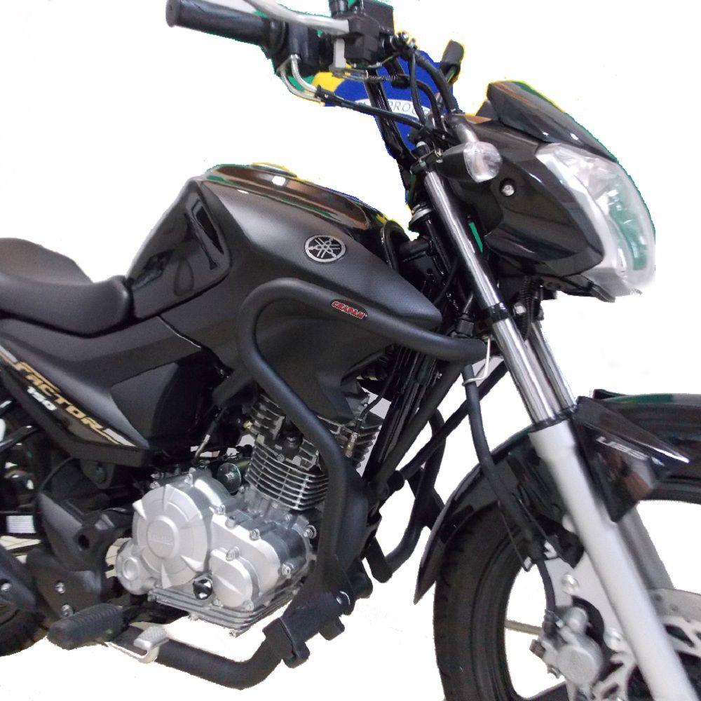 Protetor Motor Yamaha Factor e Fazer 150 Com Pedaleiras Chapam 11611