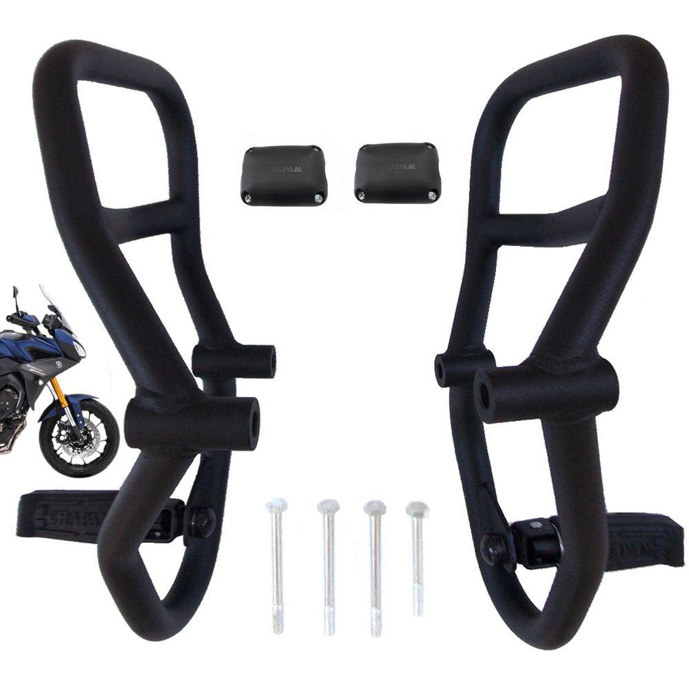 Protetor Motor e Carenagem C/ Pedaleiras Tracer MT 09 e 900 GT 11672 Chapam