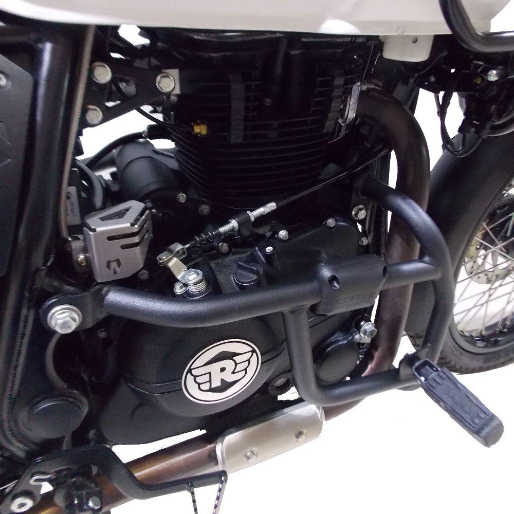 Protetor Motor Ferros Com Pedaleiras Royal Enfield Himalayan Chapam 11913