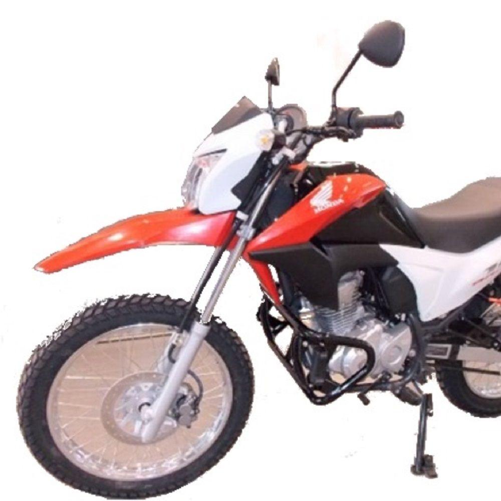 Protetor Motor Mata Gato Cachorro Bros 150 160 com Pedaleira