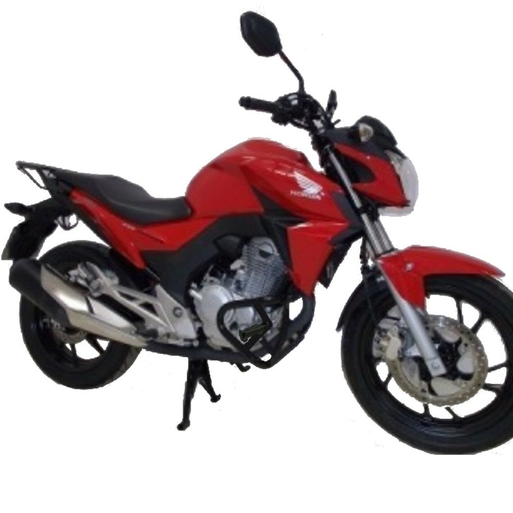 Protetor Motor Mata Gato Cachorro CB 250 Twister com Pedaleira Chapam 10092