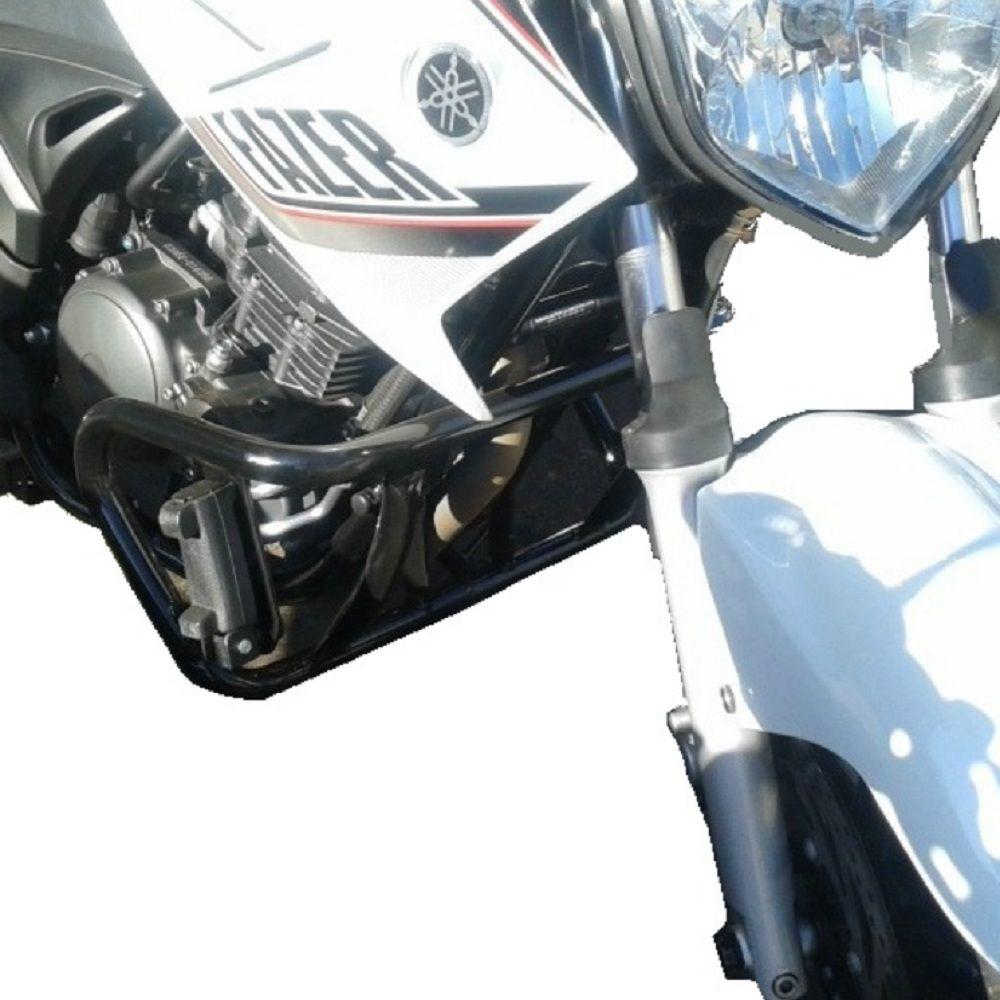 Protetor Motor Mata Gato Cachorro Fazer 250 2006 até 2017 com Pedaleiras
