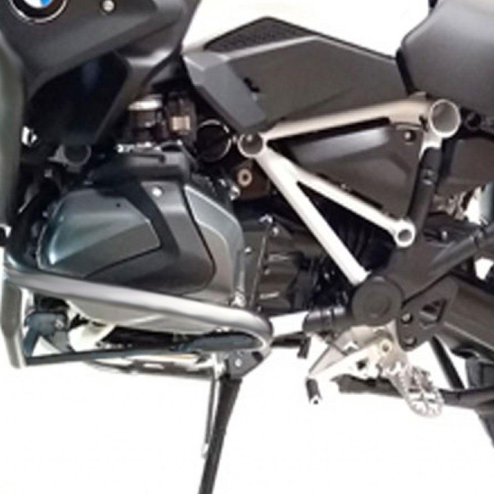 Protetor Prata Ferros P/ Motor Cabeçote Para BMW R 1250 GS 2019 Start Racing S387G