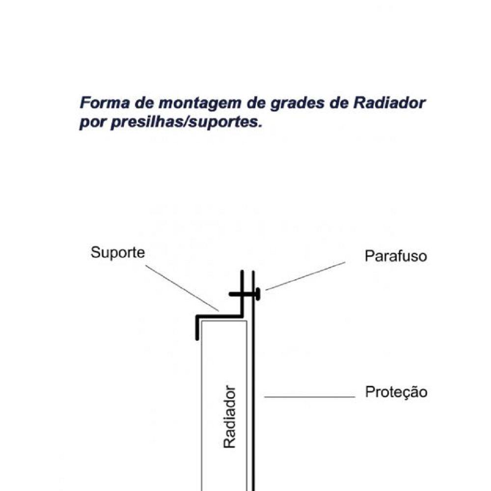 Protetor Radiador Vstrom 1000 V Strom Dl 2014 2020 s186