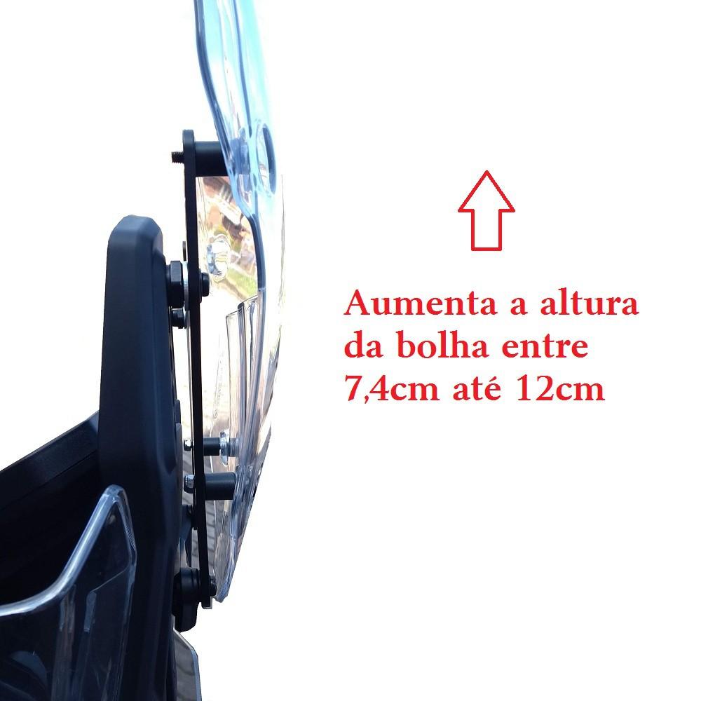 Regulador Regulagem da Altura Para Bolha Parabrisa Tiger 900 2020+ Start Racing S429