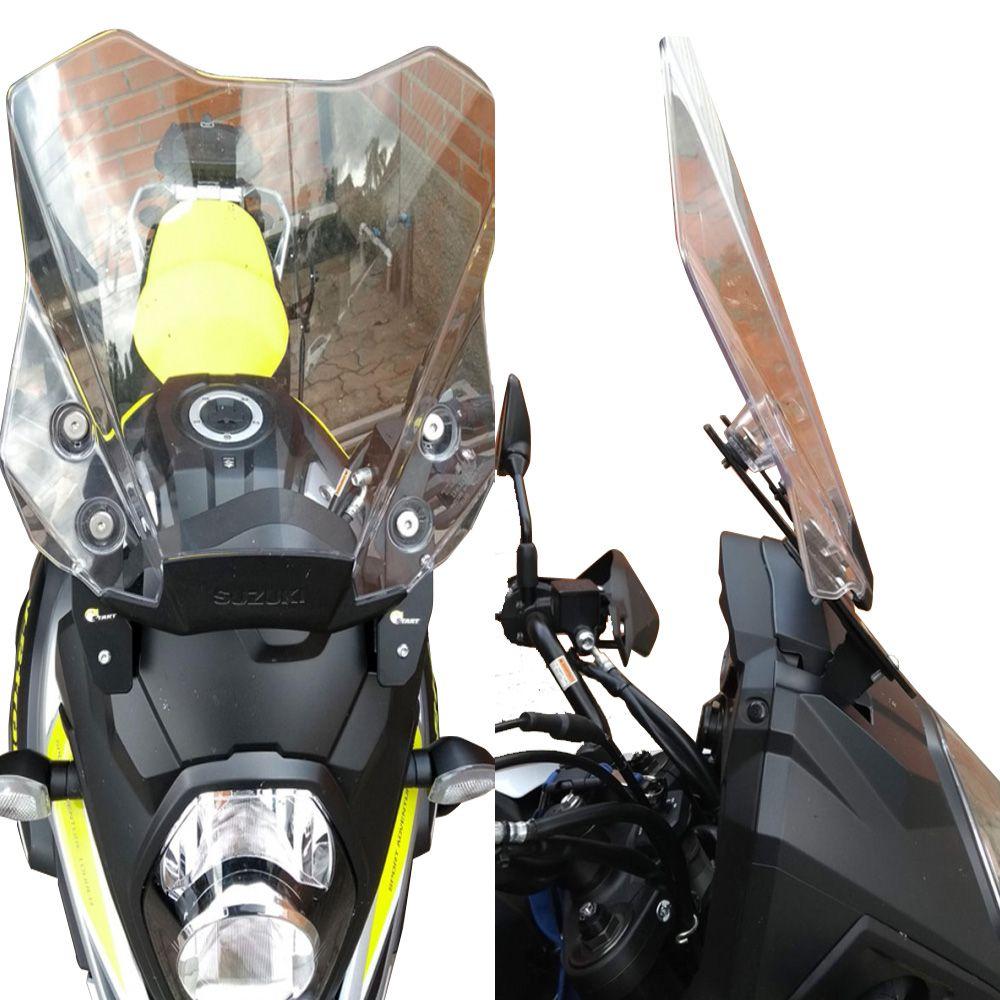 Regulagem Altura Inclinação Bolha Parabrisa V Strom DL 1000 2014+ S407 Start Racing