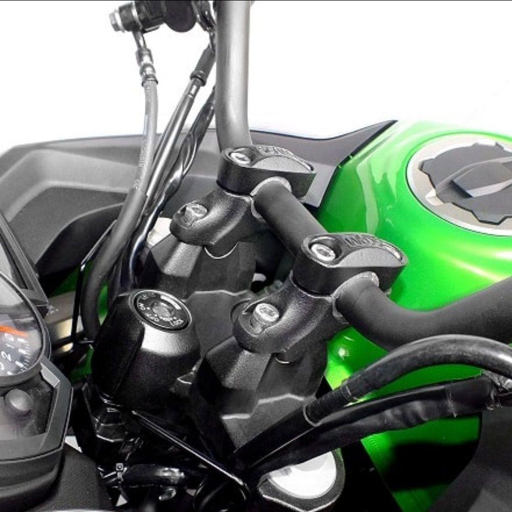 Riser Adaptador Alongador Fixo Guidão Moto 22mm 28mm Scam SPTO271