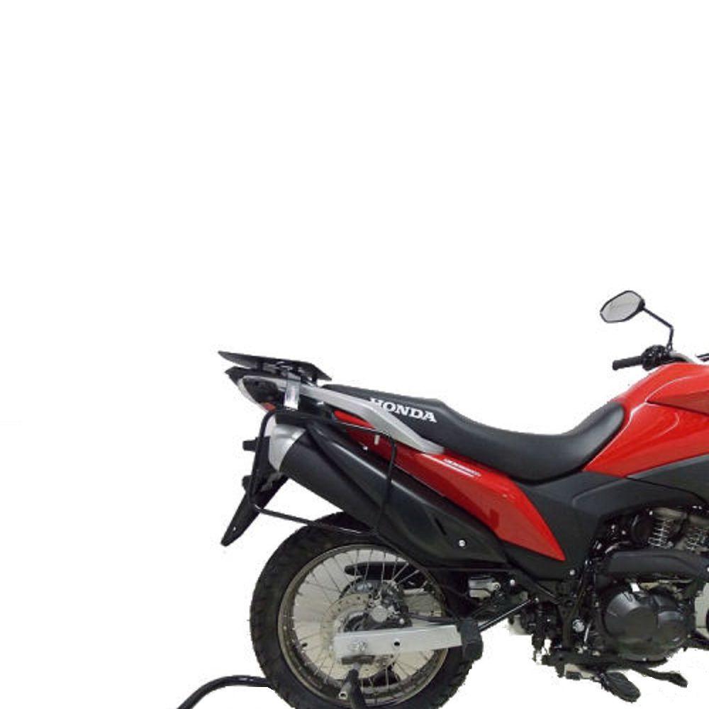 Suporte Afastador De Alforge Proteção Traseira Para Xre 190 Bros 150 160 Chapam 10307