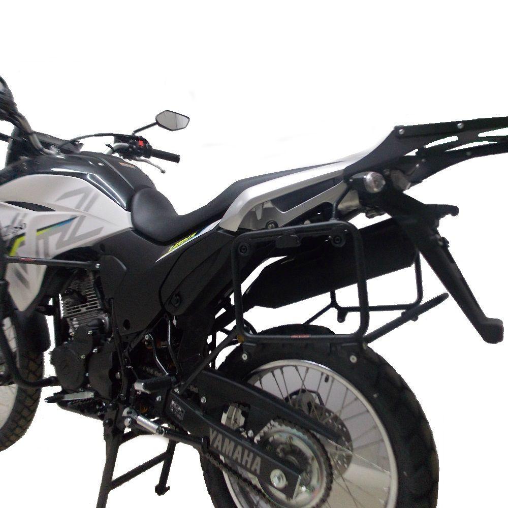 Suporte Para Baús Malas Laterais Monokey Tipo GIVI Para Lander 250 2020 Abs Marca Chapam 11520