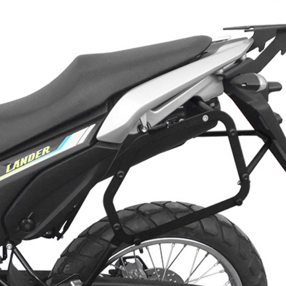Suporte Baú Mala Lateral Monokey Lander 250 2020 Abs Scam SPTO442