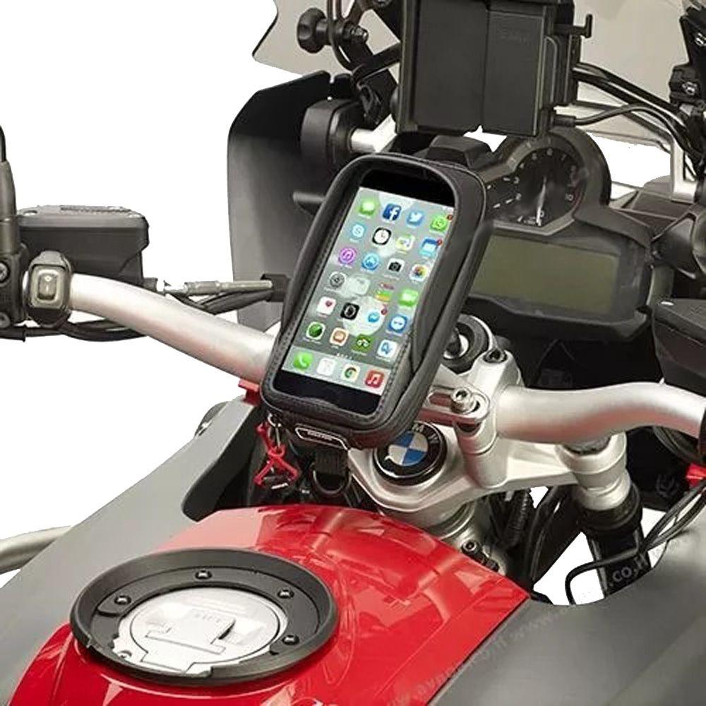 Suporte Celular Moto Guidão de 7/8 Polegadas Kappa KS957B