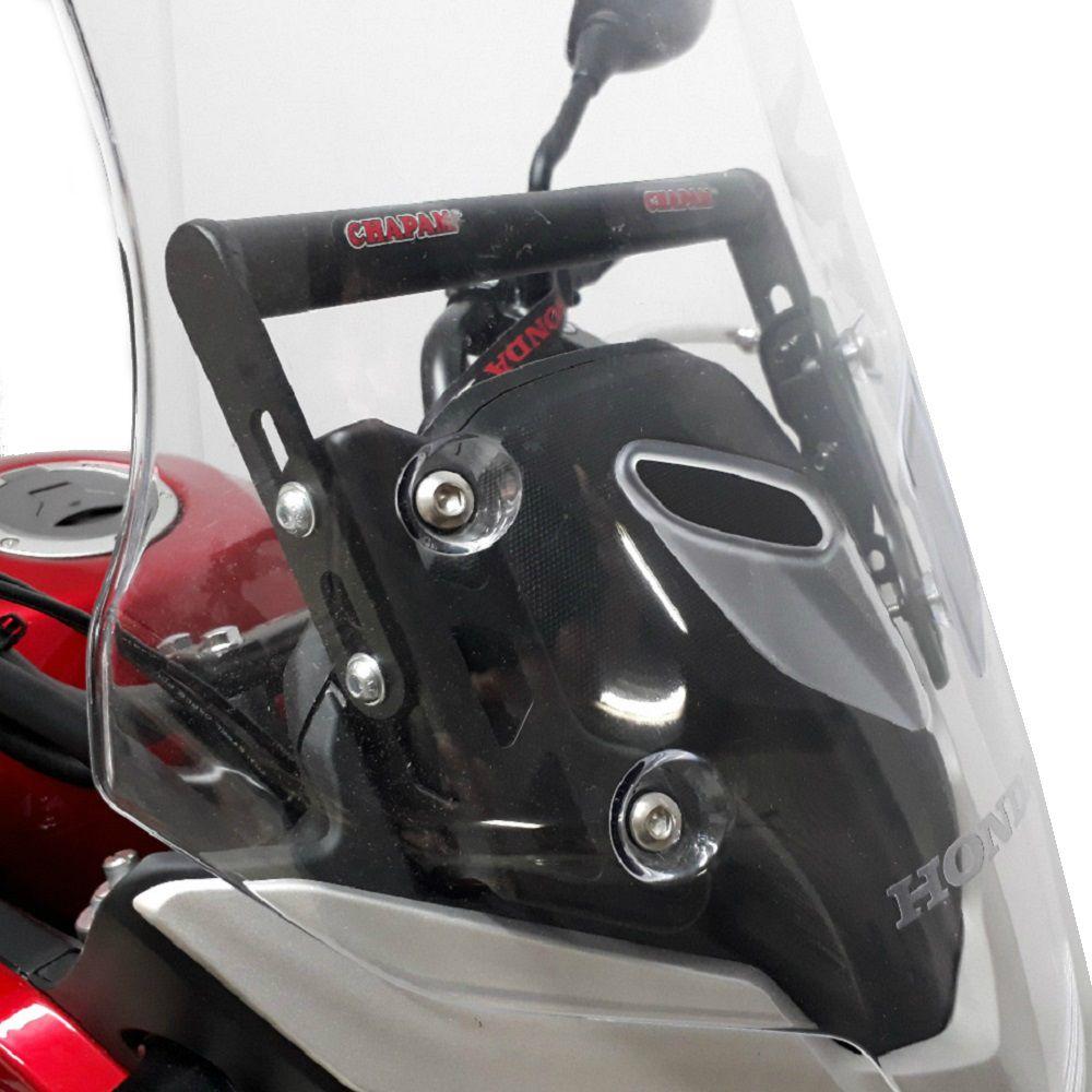 Suporte Tubular Para Suporte de GPS Para CB 500 X 2018 e 2019 Chapam 11281