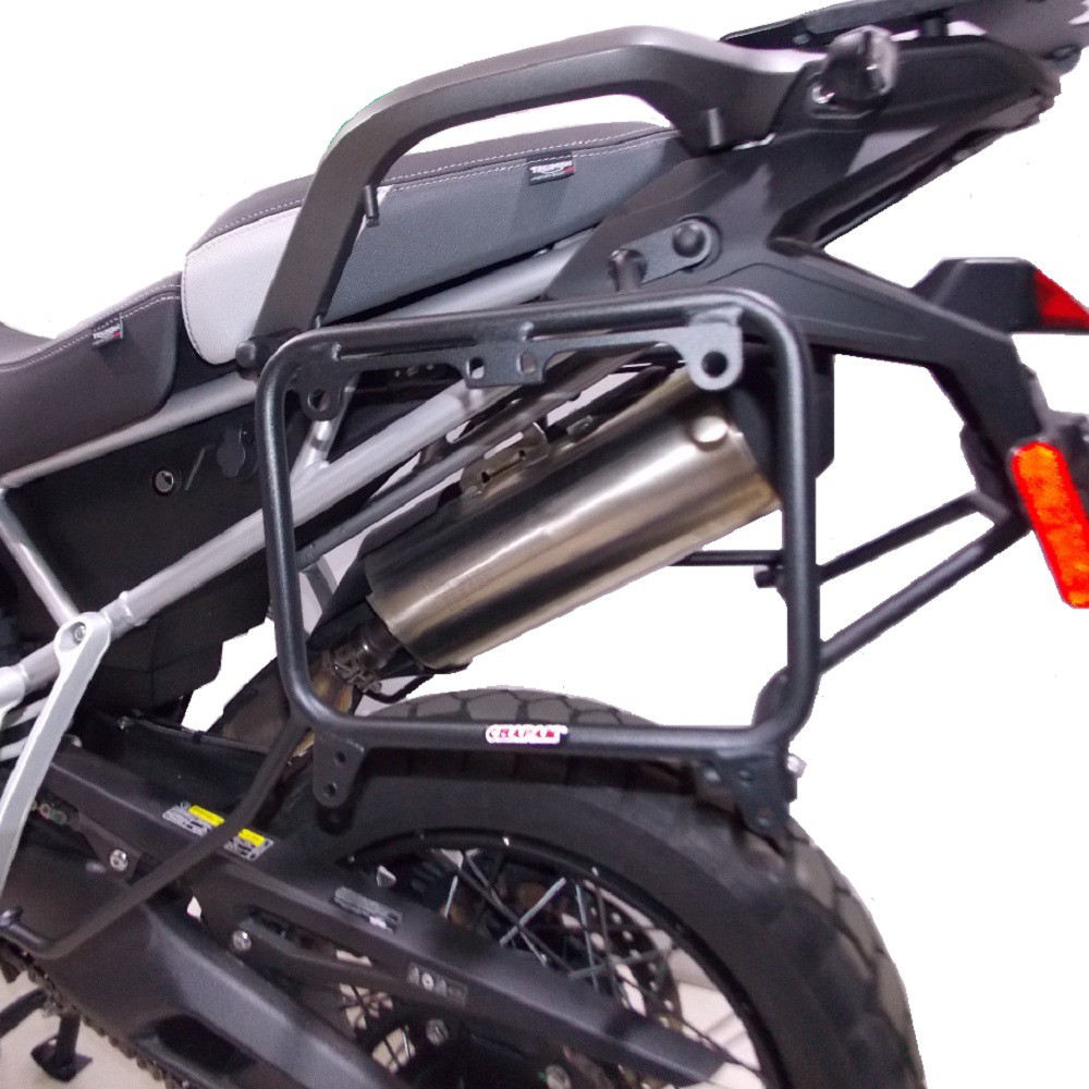 Suporte Fixação De Malas Laterais Para Baús Givi Monokey P/ Tiger 900 GT / Rally / 2020+ Chapam 12367