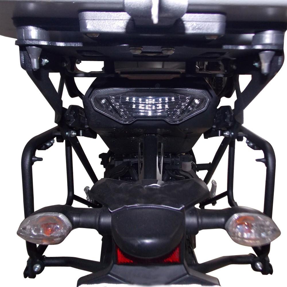 Suporte Fixação De Malas Laterais Para Baús Givi Monokey P/ Tracer 900 GT 2020+ Chapam 12372