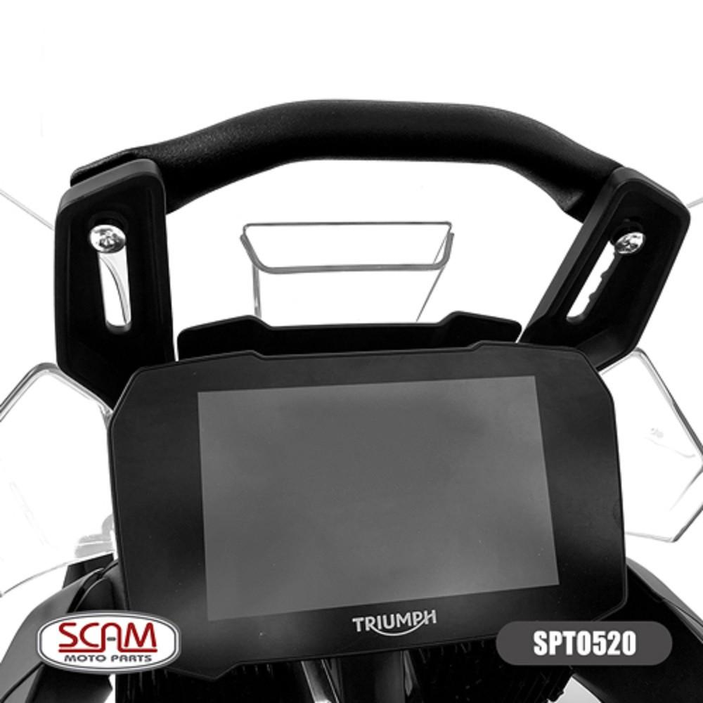 Tubo Base Tubular para Suporte de GPS P/ Tiger 900 2020+ Scam SPTO520