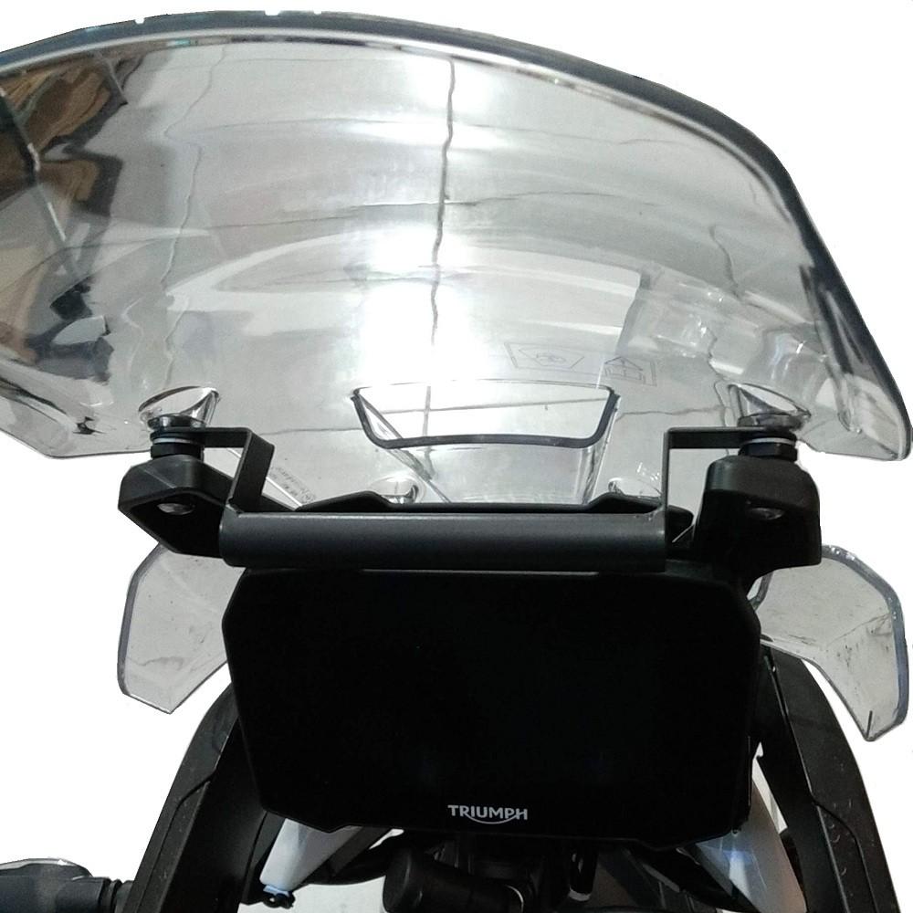 Tubo Base Tubular para Suporte de GPS P/ Tiger 900 2020+ Start Racing S430
