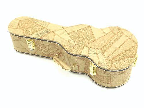 Case Para Cavaquinho Extra Luxo Caramelo Com 3 Fechos