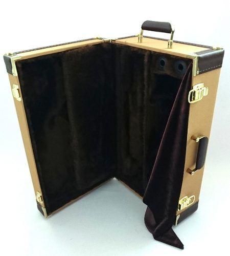 Estojo Case Para Trompete Golden Tweed