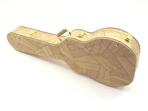 Case Para Guitarra Semi Acustica Gibson 335 Caramelo