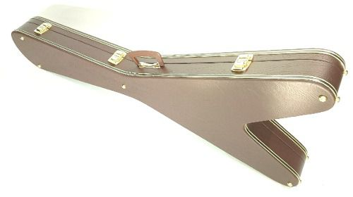 Estojo Case Para Guitarra Flying Em V Extra Luxo