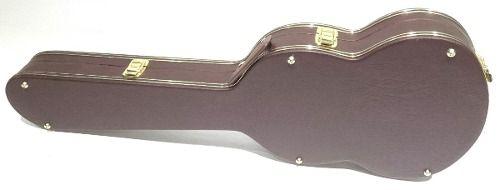 Case Para Guitarra Telecaster Extra Luxo Pelúcia Caramelo