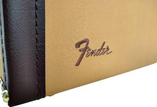Case Tweed Guitarra Strato Telecaster Logo Fender