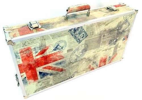 Case Para Pedaleira 60x33x7,5cm Tema Inglaterra