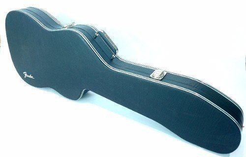 Case Para Guitarra Strato Canhoto Logo Fender Luxo