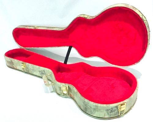 Estojo Case Guitarra Les Paul Gibson London Vermelha