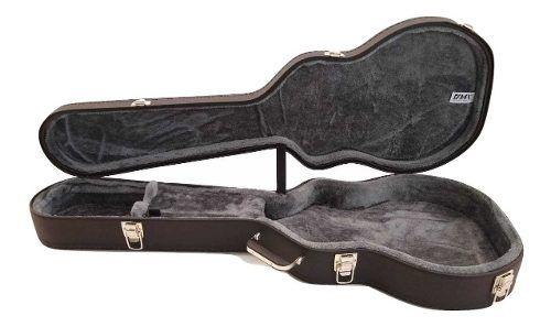Case Guitarra Semi Acustica EpiPhone Milenium Pelúcia Cinza