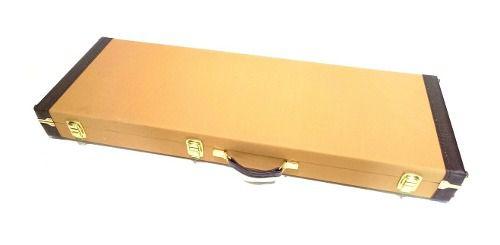 Estojo Case Guitarra Les Paul, Strato, Sg...golden Tweed