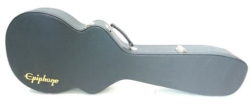 Case Para Guitarra Les Paul Epiphone Milenium Pelúcia Preta