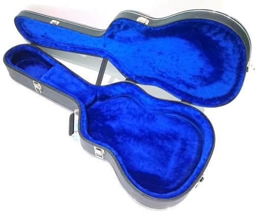Case Para Violão Classico Luxo Pelúcia Azul