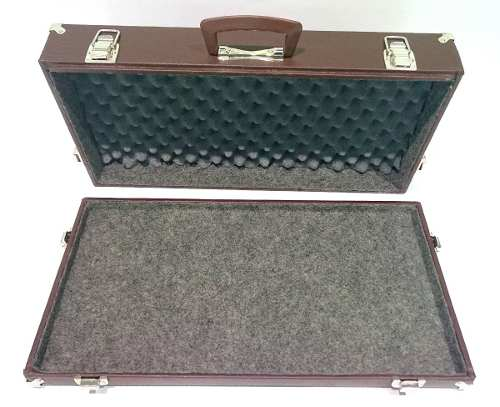 Case Para Pedais Pedaleira Zoom Boss 60x33x10cm Marrom St