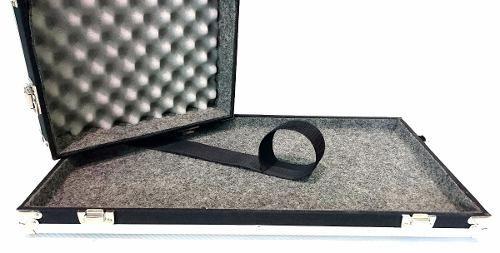 Case Para Pedais - Medidas 70x40x10cm - Sintético e Alumínio