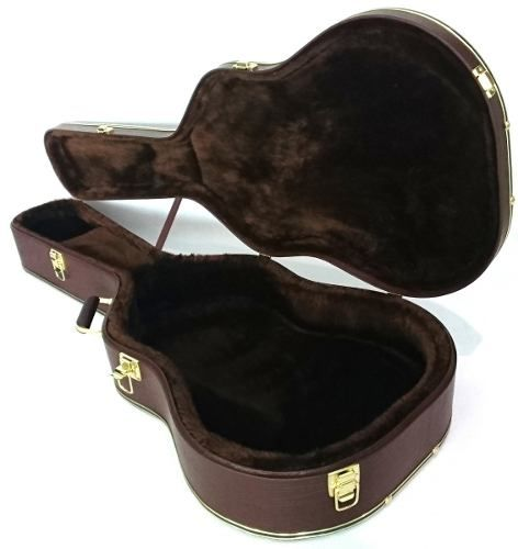 Estojo Case Para Violão Folk Takamine Tagima Crafter Marrom