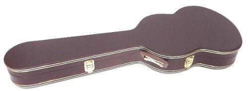 Estojo Case Guitarra Formato Sg Extra Luxo Marrom