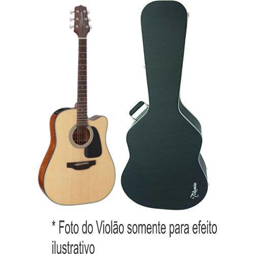Case Para Violão Folk Gd11 Luxo Logo Takamine