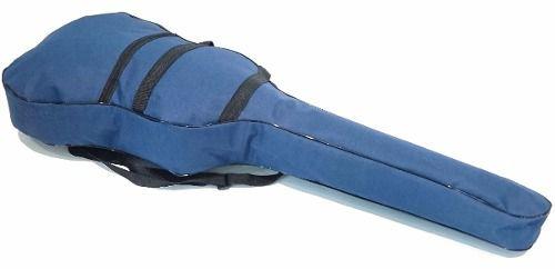 Bag Para Violão Classico Nylon 600 Impermeável Azul