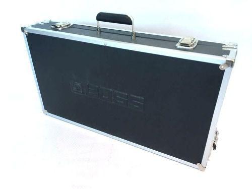 Case Para Pedais Logo Boss Luxo Alumínio 60x30x10cm