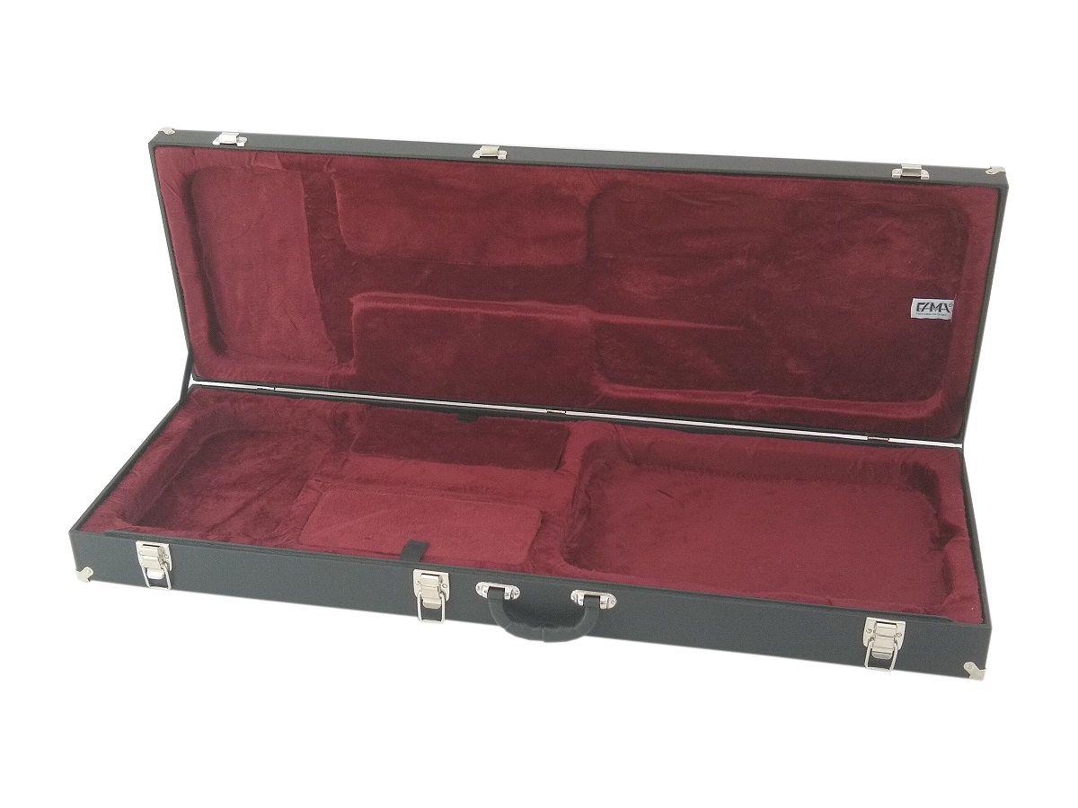 Case Guitarra Les Paul Strato Telecaster Fender Pelúcia Vinho