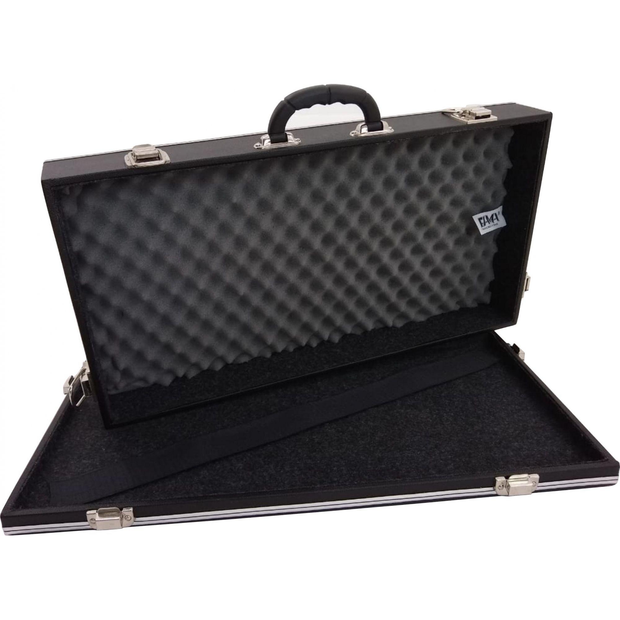 Case Para 7 (sete) Pedais Luxo