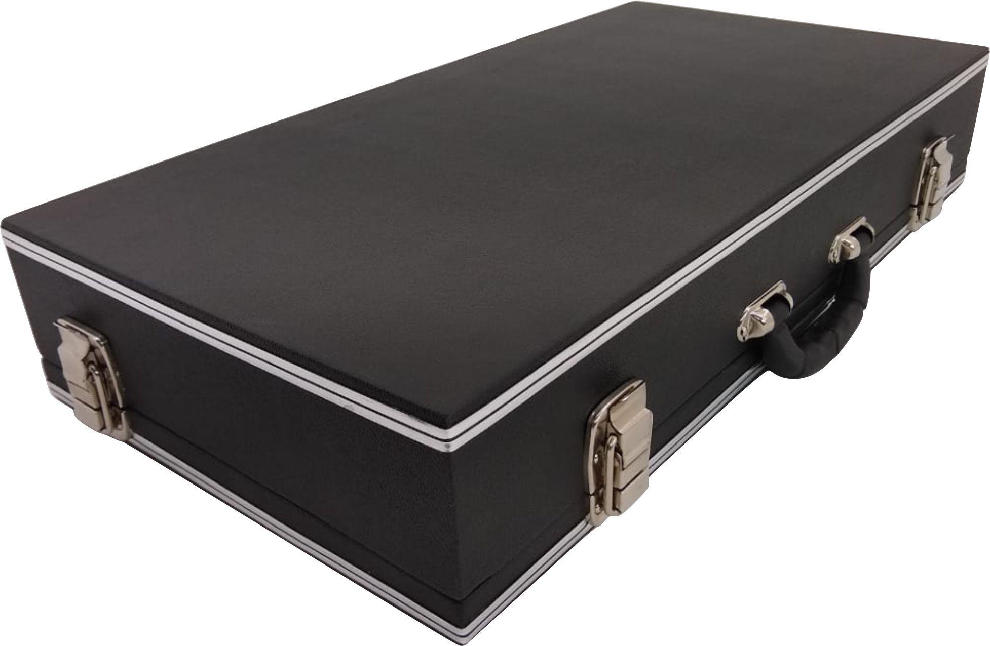 Case Para 8 (oito) Pedais Luxo